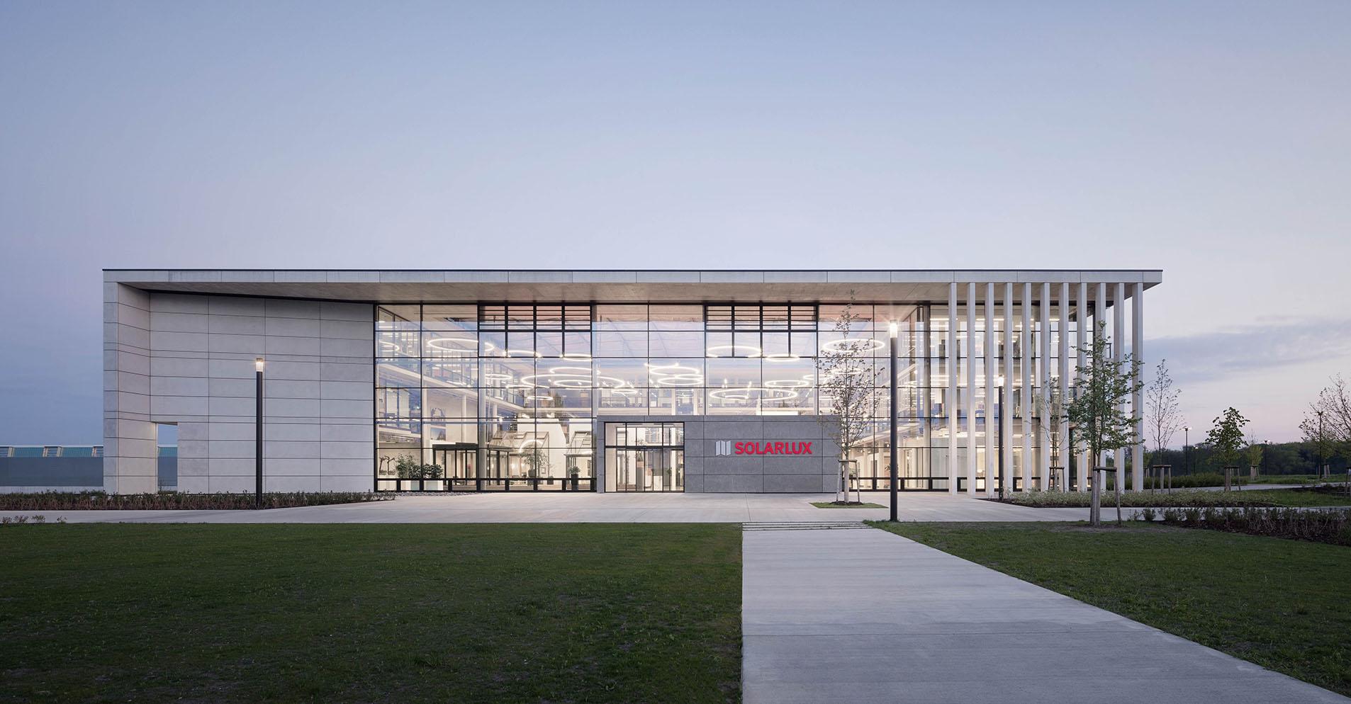 Abbildung Firmensitz Solarlux