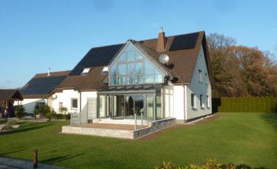 Einfamilienhaus mit Wintrgarten