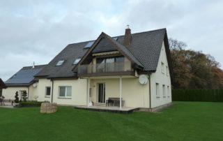 Enfamilienhaus mit Satteldach