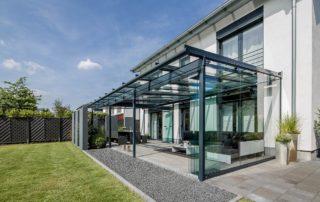 Glashaus Außenansicht