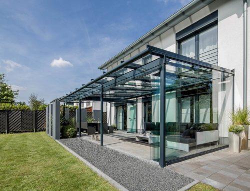 Glashaus und Terrassenüberdachung in einem